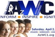Arizona Women's Conference / The 5th Annual Arizona Women's Conference will take place Saturday, April 2nd at Scottsdale Community College. Check here for updates on speakers, vendors, sponsors, logos, details, and more! / by Write | Market | Design