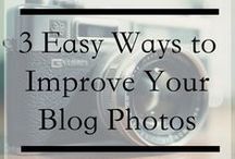 Photography | Tips & Tricks / Undeniably, one of the most important things about blogging is photography and whether you're taking the photos yourself or using stock photos, you'll want to use these tips.  / by She is Fierce | Blogger