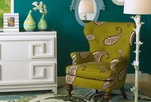 Teal, Turquoise and Chartreuse / by Leslee Walser