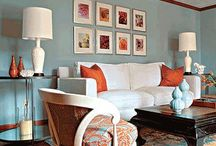Turquoise/Corals/Reds / by Leslee Walser