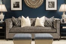 Blues in all Hues / Home decor encompassing all different shades of Blue / by Leslee Walser