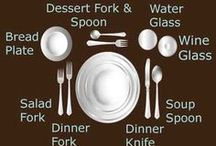 Cook, Dine and Entertain / Cooking supplies and tips, table settings, and fun inspiration for foodies