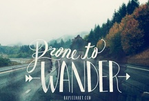 Darling let's be adventurers  / by Meredith Demaree