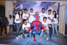 Spider-Man at Max Kids Festival 2014 / Max Kids Festival 2014 gave children a chance to meet & greet their favourite Super Hero Spider-Man!!! Here's the glimpse of it MAX lovers...  Visit your nearest Max Store between May 1 to June 8 and be a part of the fun at #MaxKidsFestival. / by Max Fashion India