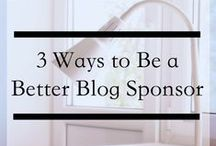 Blog Sponsorship | Tips & Tricks / Whether you're getting ready to buy your first sponsorship, or you're about to dive into the world of selling them this board has everything you need for tips and advice.  / by She is Fierce | Blogger