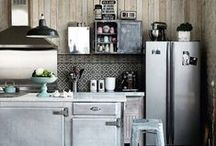 ideal kitchen / love cooking, so want to get these ideal kitchen someday in my life!!!
