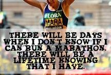 First Marathon Inspiration! / Motivation and tips for successfully completing a full marathon.