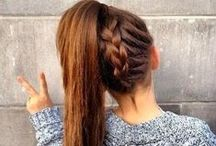 Hairstyles / Idées coiffures.