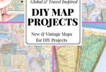DIY Projects / A Project (or Fifty!) for the Weekend //// Build, glue, sew, and paint your heart away!