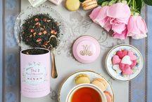 T e a / A cup of tea is a cup of peace. ~Soshitsu Sen XV