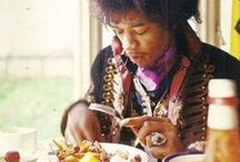 Jimi Hendrix / Rare pix from the South Saturn Delta / Rare and great photos of Jimi Hendrix / by Paul DiNardo
