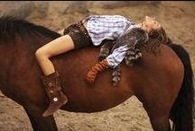 Cowgirl at Heart / I love horses. Need I say more? / by Koralyn Crane