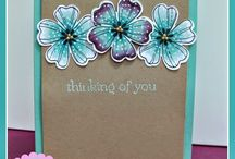 Stampin UP - Flowers Stamps
