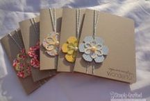 Stampin UP - Small cards
