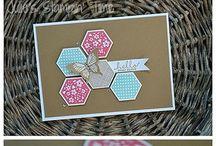 Stampin UP - Hexagon