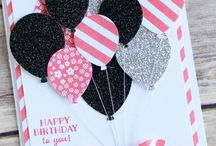 Stampin UP - Balloon Bash