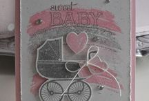 Stampin up - Something for baby.