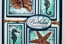 Stampin UP - Fishy Friends