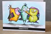 Tim Holtz. Crazy birds.
