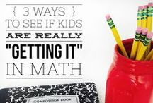 Math / Resources, blog posts and ideas for teaching math in the elementary classroom