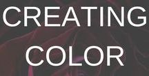 CREATING COLOR⎥Stilazzi / neutrals, metallics, and a bit of the dark side
