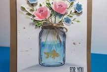 Stampin up - Jar of love