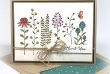 Stampin up - Flowering Fields
