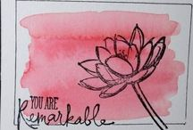 Stampin UP - Remarkable You.