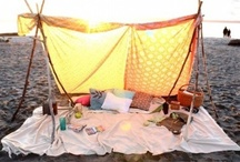 +Glamping//Camping//Tee Pee's//Forts+ / by Carolynn June