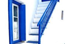 B is for blue, my favorite color! / All things blue - my favorite hue!