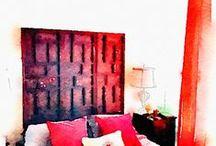 Asian Bedroom / Natural colors & fibers