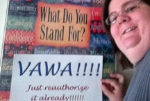 VAWA / Reauthorize the Violence Against Women Act (VAWA)! http://4vawa.org/