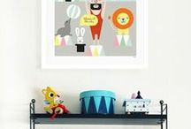 NURSERY IDEAS - VINTAGE CIRCUS / Circus inspiration for children interiors, nurseries and decorator items. Lots of images for creating the circus mood.