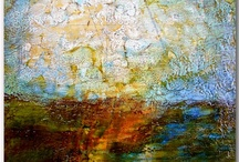 Abstract / Encaustic Art