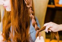 Braids / Our favorite redhead #braids gathered on one board.