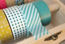 Washi Tape Crafts / Washi Tape is everywhere right now! Including here. Washi Tape Crafts! What to make using washi tape or how to use washi tape in planners.