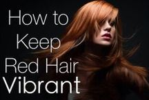 Redhead Hairstyles & Tips / Gorgeous redhead hairstyles, hair tips, product recommendations.. and more! #redheadhairstyles #hairstyles #hairtips #redheads