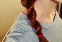 Hair Ties For Redheads / Hair ties for every type of redhead, and the hair styles that are possible because of them! #RedheadHairTies #HairTies
