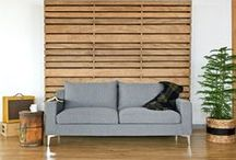 Meet the Sloan Sofa / We call this contemporary sofa Sloan. Her classic styling fits in with all kinds of spaces, from boho-chic homes to minimalist interiors. This customizable sofa can be built to the exact length that best fits your space.