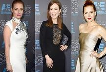 Red Carpet Looks + Hairstyles / Our favorite 'redhead friendly' looks from the red carpet this year! #redcarpet #redheadcelebs