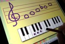 Piano Lessons: Apps / iPad, iPhone, iOS and Android apps for piano lessons to help students with a wide variety of skills including note reading, sight reading, rhythm, ear training, music theory, etc.