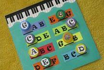 Piano Lessons: Music Alphabet