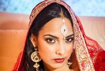 """South Asian Bride Magazine Feature: """"Traditionally Modern South Asian Bride"""" / The inspiration behind the """"Traditionally Modern South Asian Bride"""" photo shoot was to highlight the boldness of colors associated with a South Asian wedding and the beauty of a South Asian Bride on her wedding day. As wedding professionals, Divine Occasions and Inije Photography & Films have a deep appreciation for cultural weddings and the fabulous colors worn by the bride are always a highlight!"""
