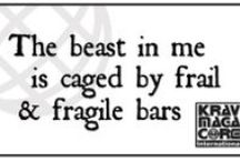 Fearless - Kick ass stuff.  Krav, Martial arts, The 30 / All the kickass stuff: Krav Maga, self defense, martial arts, mma, aikido, win chung, tkd, et al.  / by DeAnne Clifton