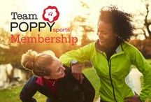 Team Poppy Sports / Who is POPPYsports?  We are strong women athletes who know how to juggle life with training. We empower women to be the best athletes they can be with motivation and accountability!  Join us at: http://www.poppysports.com/team-poppy-sports/