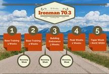 Half Ironman Training Plan / Welcome to our half Ironman training plan board.  We're sharing inspiration, mentoring and tips for half ironman training from our own 16 week half Ironman training program and online mentoring program to other useful Ironman 70.3 tips from around the web.  Make 2015 count! #triathlon #ironman