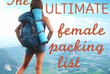 PACKING LISTS / Packing lists and travel tips