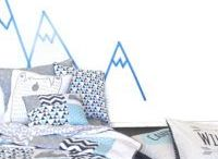 BABY NURSERY IDEA - MOUNTAIN / Adventure awaits..mountains, bears and arrows feature in this baby crib bedding range.. decorating ideas and baby quilts