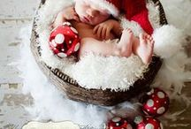 BABY PHOTO IDEAS - CHRISTMAS / Creative Photography Ideas and Inspiration for babies and children to create a beautiful keepsake photo of each Christmas.