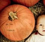 BABY PHOTO IDEAS - THANKSGIVING / Photo ideas and inspiration to try at home to create a beautiful keepsake of baby first Thanksgiving or to celebrate the season with the kids.